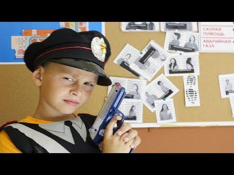 ALİ POLİS OLDU HIRSIZLARI YAKALADI çocuk meslek şehri