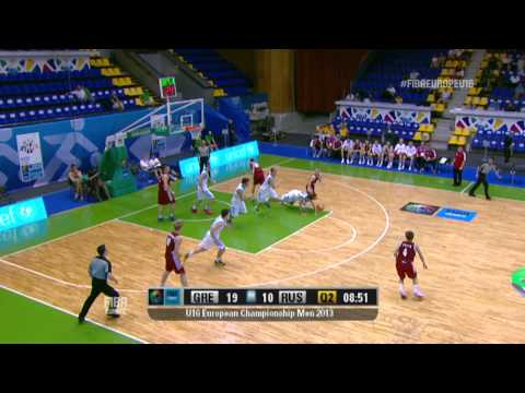 Video : Εθνική Παίδων | Ελλάδα - Ρωσία 68 - 60