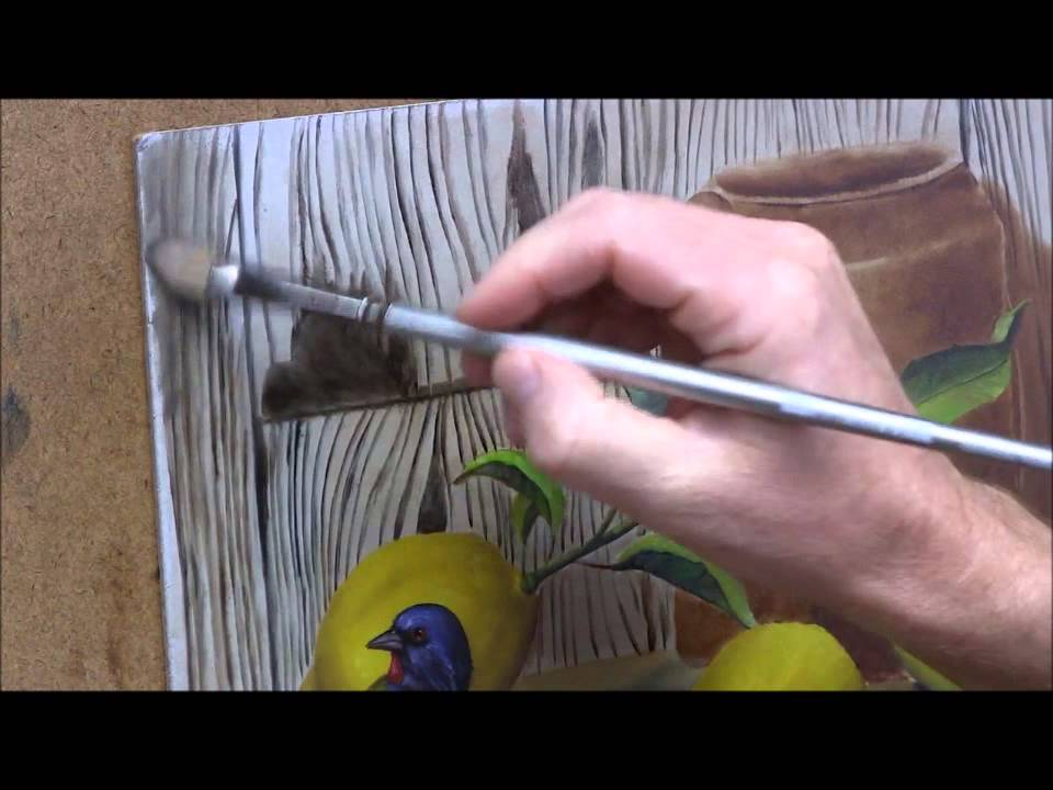 How to paint wood grain YouTube