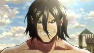 Video Attack On Titan - Eren vs Titans download MP3, 3GP, MP4, WEBM, AVI, FLV Februari 2018