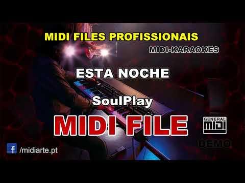 ♬ Midi file - ESTA NOCHE - SoulPlay