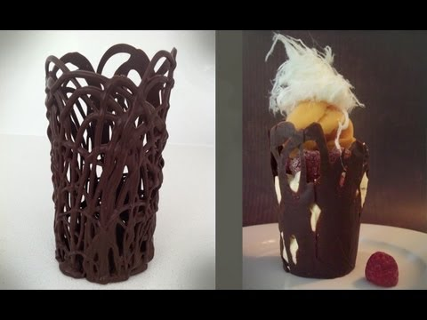 How to make a CHOCOLATE BOWL tall How To Cook That Ann Reardon
