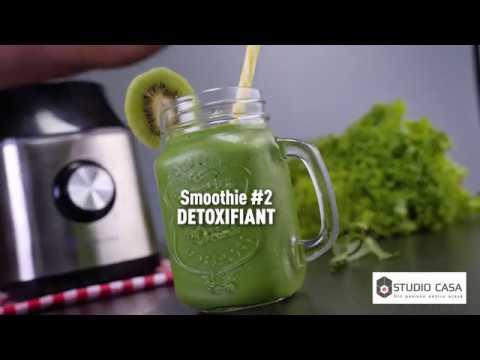 Shake detoxifiant cu cristale de legume - Naturawl