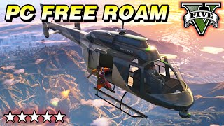 Guess Who's Back - GTA 5 PC Gameplay: FREE ROAM HANGOUT - Live Stream MAX Graphics Settings