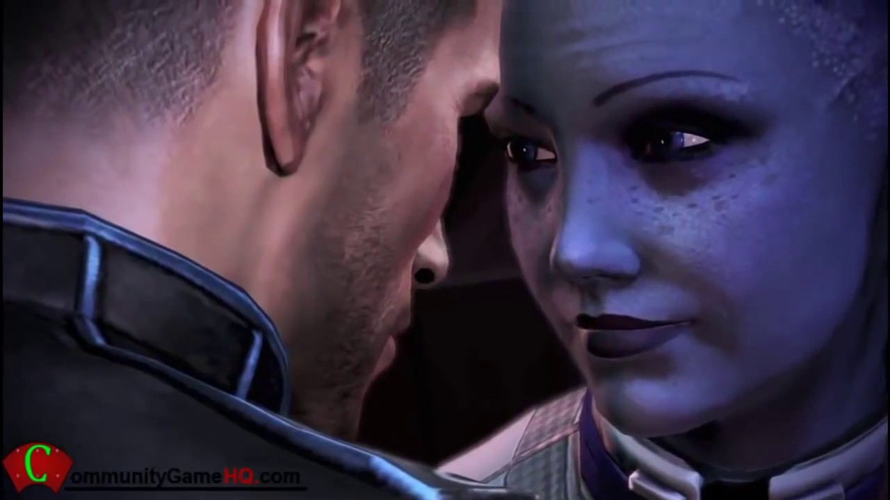 Mass Effect 3 Liara Commander Shepard Together Forever