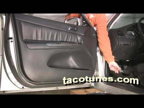 Toyota Camry How To Install Stereo Speakers Tweeters