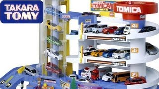 Tomica Auto Parking Garage Takara Tomy Disney Pixar Cars  トミカ スーパーオート トミカビル