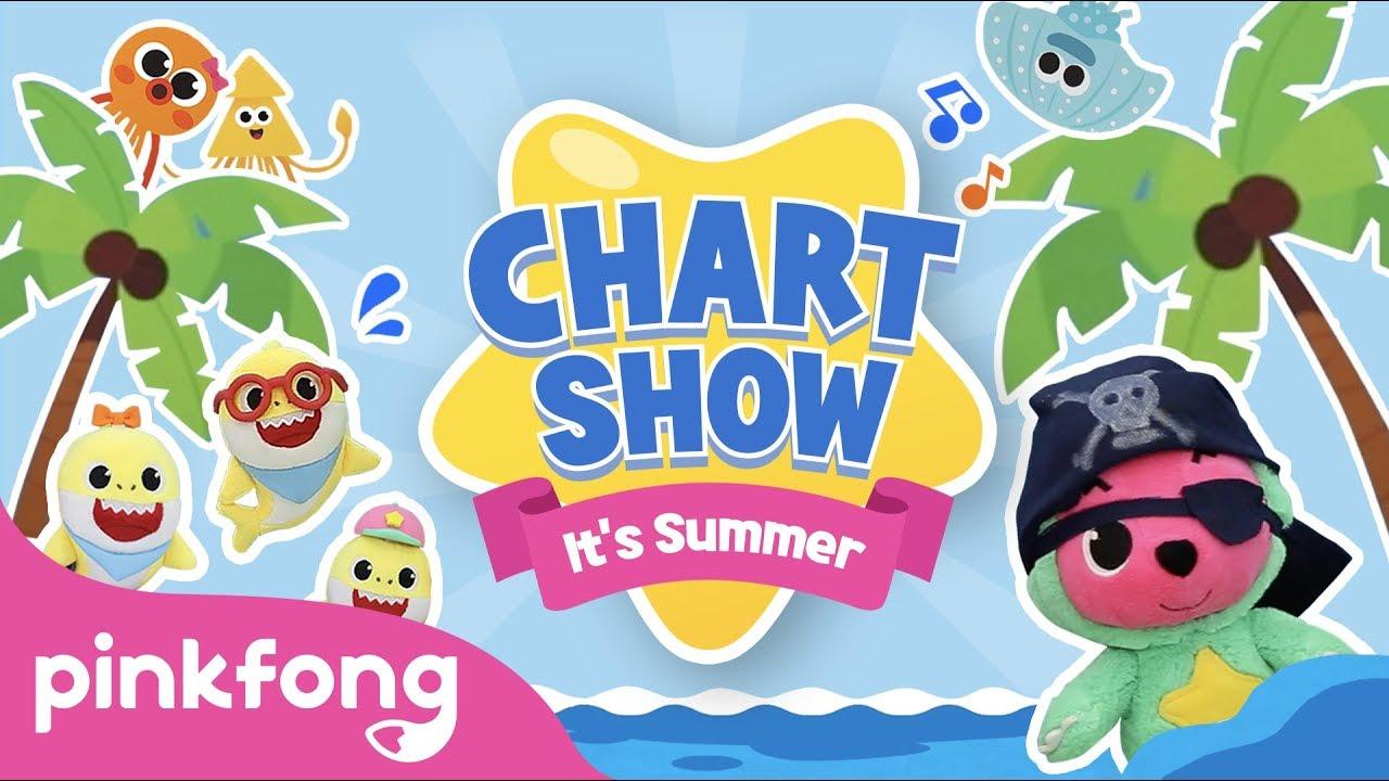 Beach Songs for Summer | Pinkfong Baby Shark Chart Show | Pinkfong Show for Children