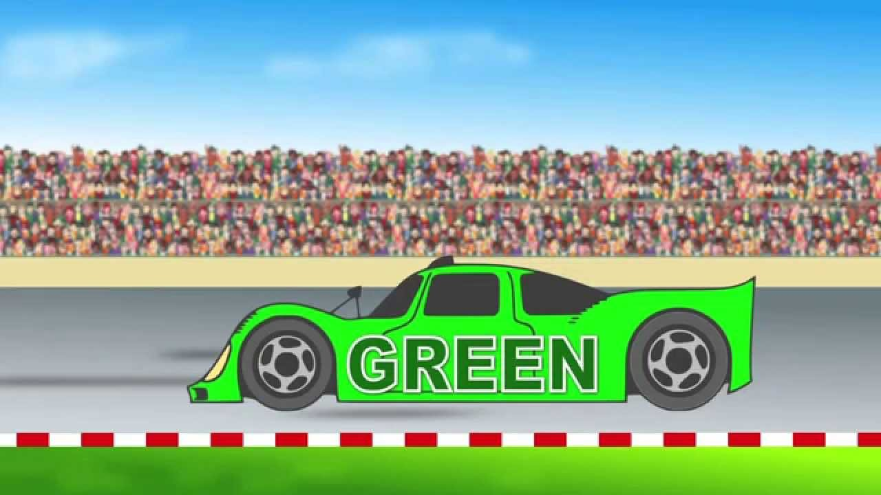 - Racing Cars Teaching Colors – Basic Colors Learning Video For Kids