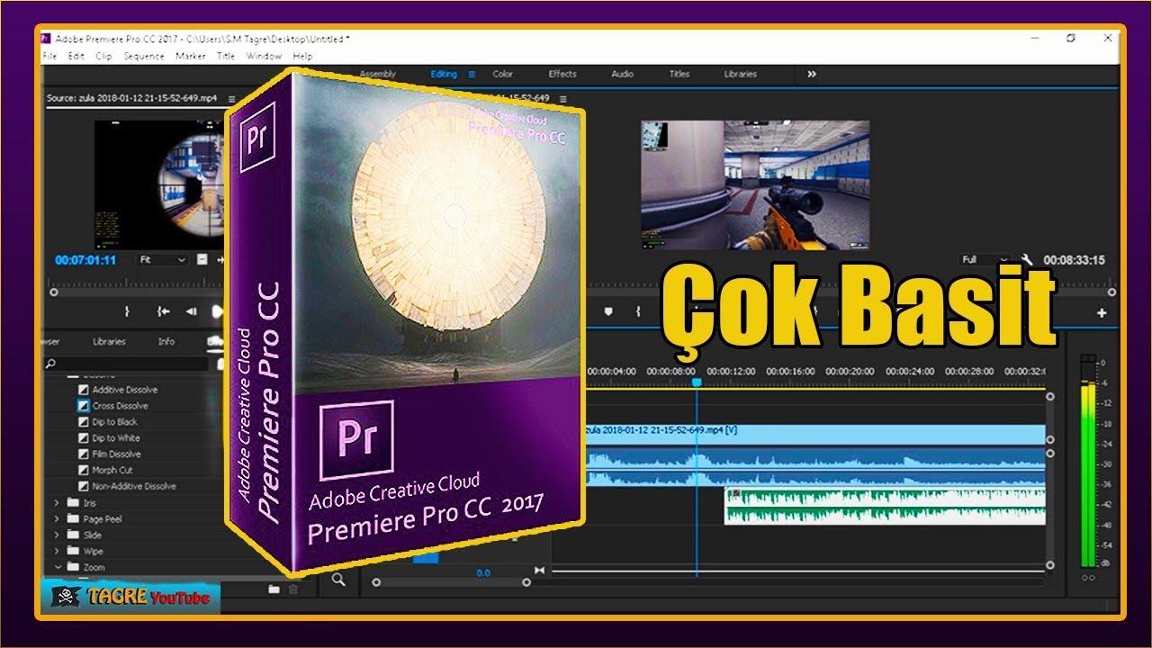 Adobe Premiere Pro CC 2017 | Yeni Kulananlar İçin Basit Montaj Yapımı