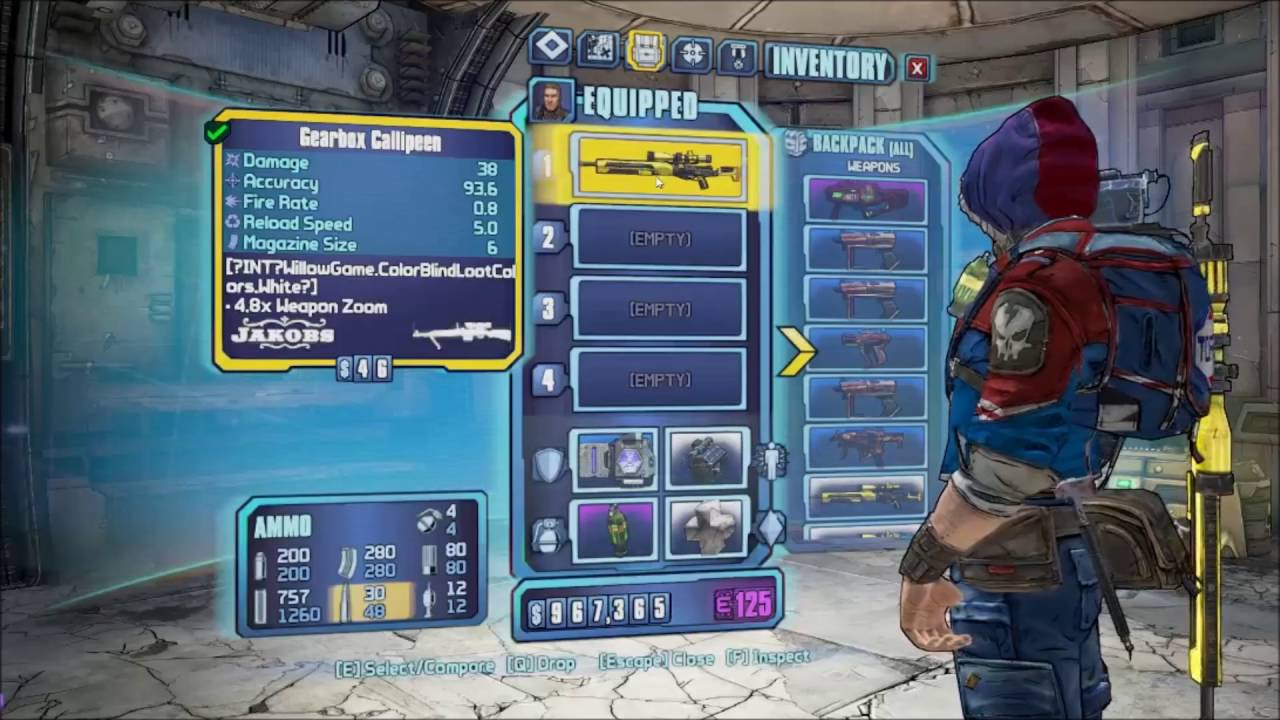 Borderlands 2 Speedrun Tech: Double-dropping and Crit Stealing - YouTube