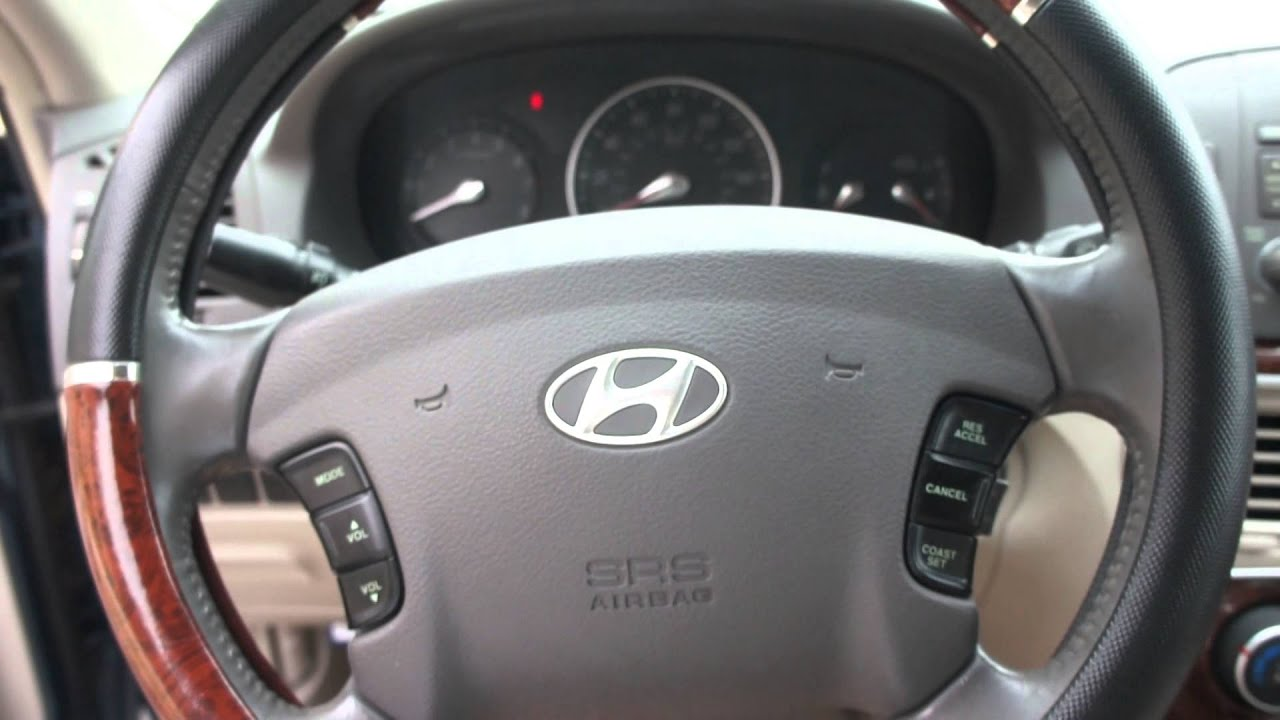 2006 Hyundai Sonata Gls Interior View Youtube