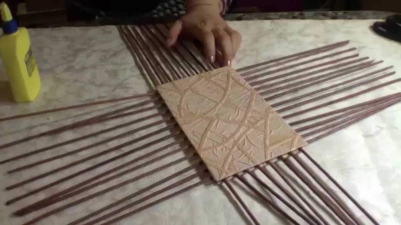 Плетение квадратной корзины для начинающих пошагово 99