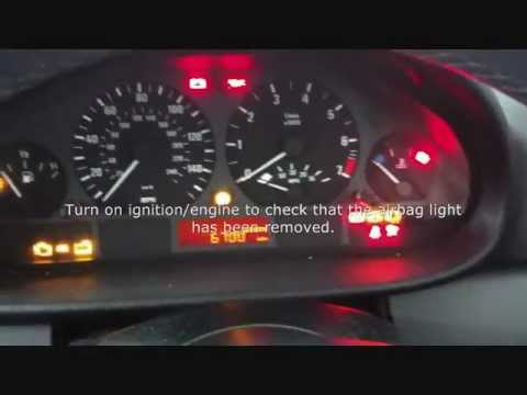 BMW Airbag Reset Using Autel MD702 & MD802