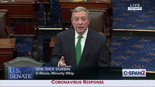 Durbin Floats Telework For Senators