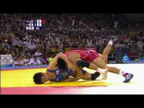 USA vs Japan - Wrestling - Men