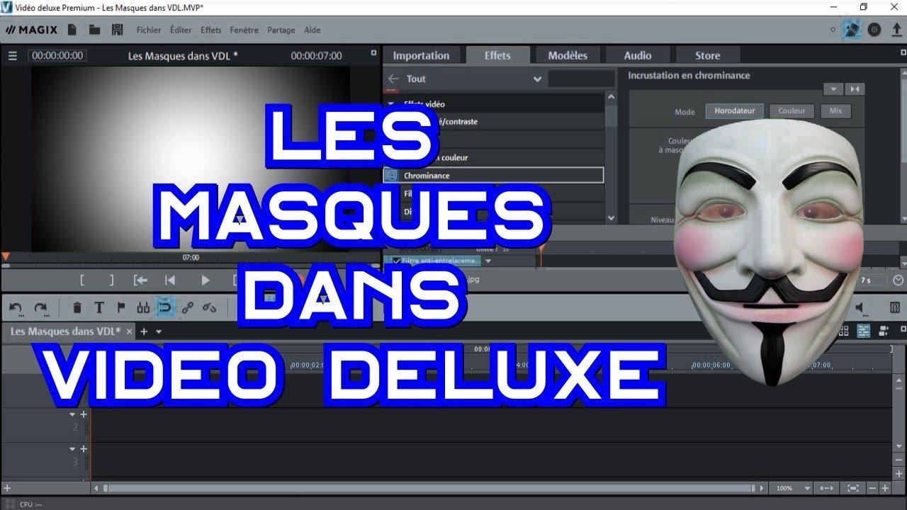 profiter du prix le plus bas design exquis officiel 🎭 Les Masques dans Video Deluxe