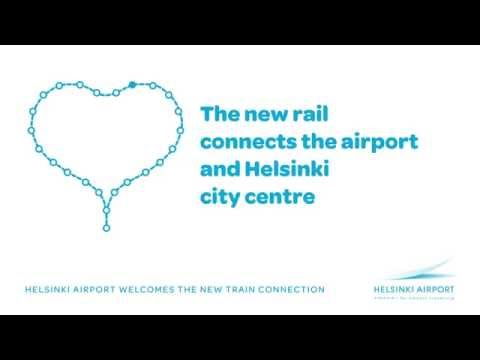 Helsinki Airport welcomes improved train connections to Helsinki Metropolitan area