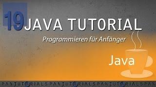 Java Tutorial Programmieren für Anfänger 19 -- Setter & Getter
