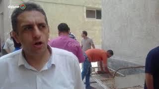 """""""من غير مقابل""""..55 حرفي في حب الله يبادرون بصيانة مرافق مستشفى دسوق"""