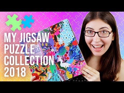My UPDATED Jigsaw Puzzle Collection 2018