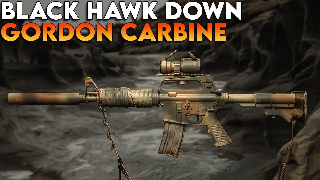 Gordon Carbine - Black Hawk Down - Type A Rifles