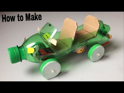 Thumbnail: How to Make a Car Out of Plastic Bottle - (Powered Car/Electric Toy)