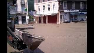 Inondation a luz saint sauveur juin 2013