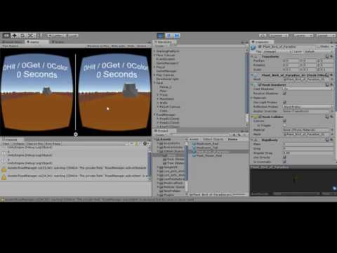 FYP Unity VR Game Project Log #03