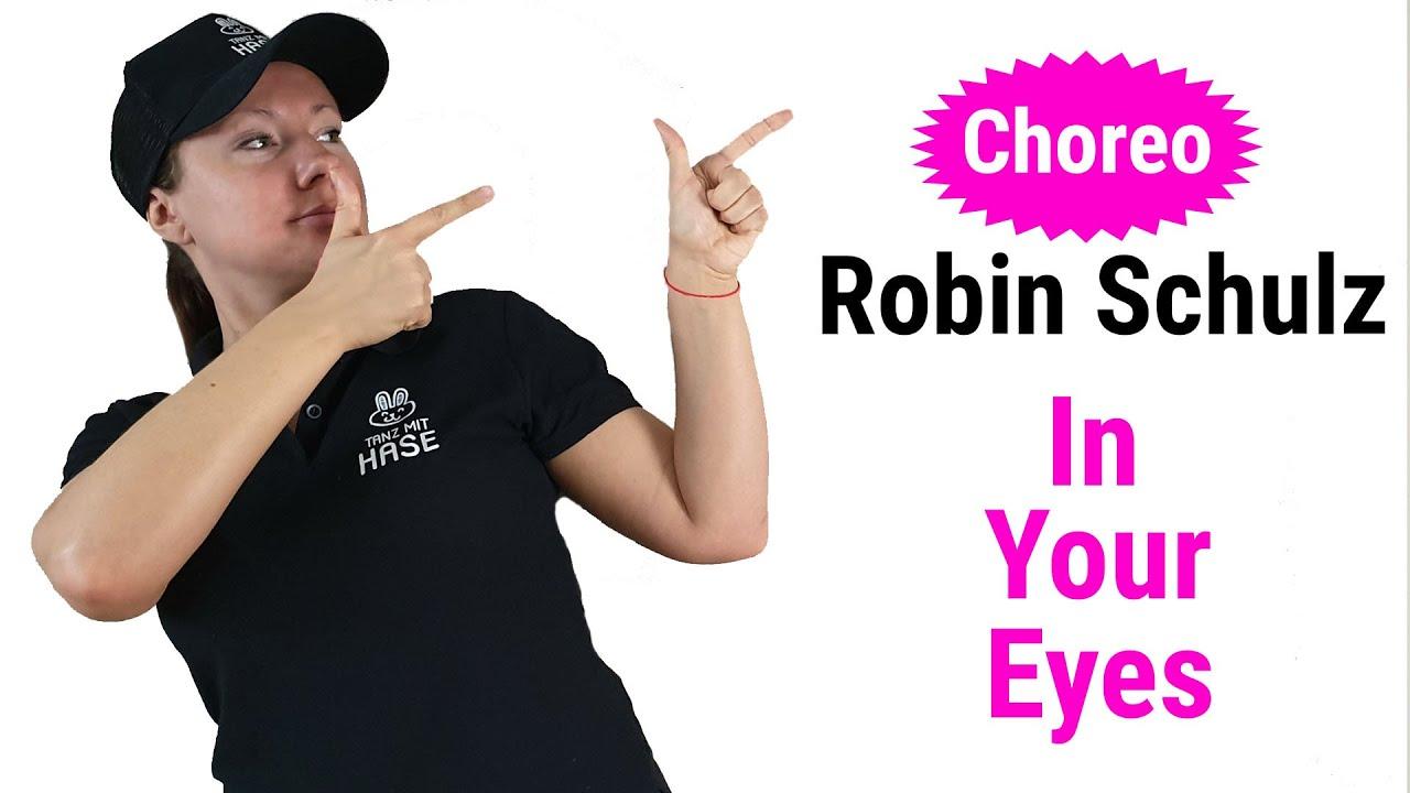 Choreo zum Lied Robin Schulz - In Your Eyes || Tanz mit Hase - Tanzen lernen für Anfänger