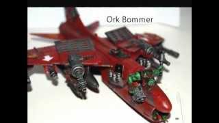 Warhammer 40k Ork Bommer conversion