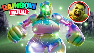 THICCEST RAINBOW HULK IN FORTNITE