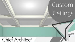 Cathedral, Tray and Coffered Ceiling Design