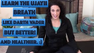 Ujayii Breath Pranayama Yoga Breathing: The 2 Minute Guru #2