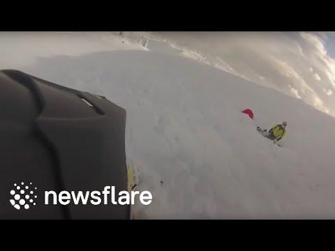 Revelstoke - Boulder Avalanche Dec 21 2014 - Ski Doo