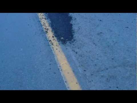 Montreal city worker admitting the road work is crap