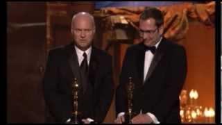 """The Curious Case of Benjamin Button"" winning an Art Directon Oscar®"