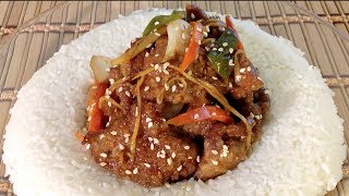 Ginger Beef Recipe-How To Make Chinese Ginger Beef-Asian Food Recipes