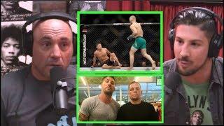 Joe Rogan - Brendan Schaub's Argument with Nate Diaz, Conor vs  Nate III