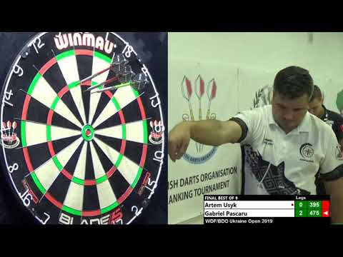 BDO/WDF Ukraine Open 2019 Men. Final. Gabriel Pascaru - Artem Usyk.