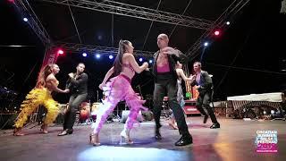 Adolfo Indacochea & Latin Soul Dancers - showtime @ Main Square Rovinj, CSSF19