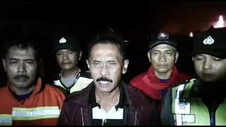 Kebakaran Pabrik Kayu Andquotdunia Baruandquot Depan Gor Majenang Cilacap Jawa Tengah