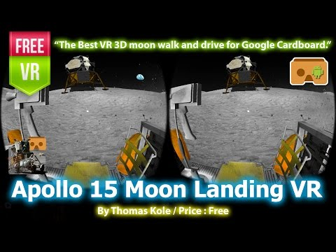 Download VR Space Mission:Moon Explorer APK For Android
