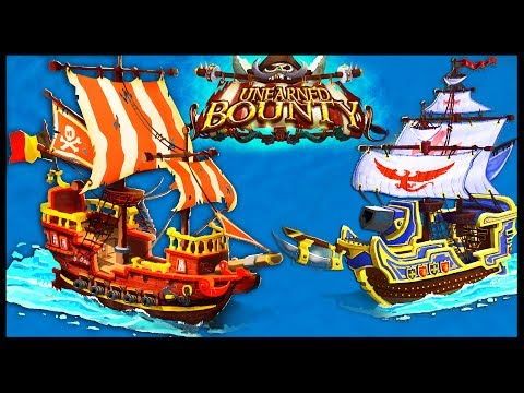 Unearned Bounty - PIRATE SHIP COMBAT GAME! Captain Your Naval Fleet! - Unearned Bounty Gameplay