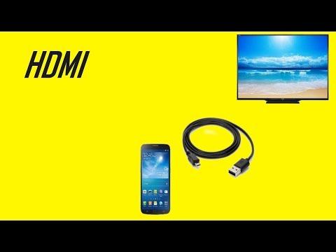 Второе подключение телефона Xiaomi Mi 6 к телевизору по HDMI методу