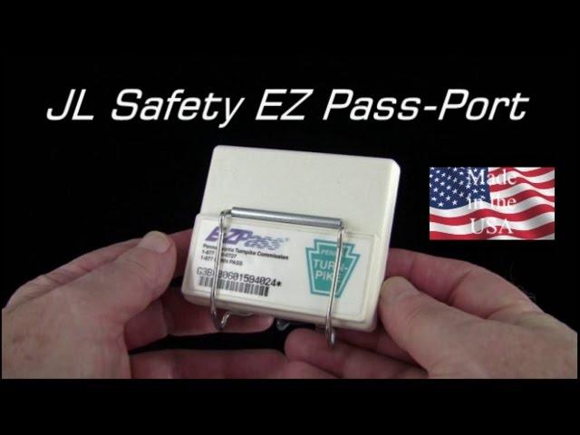 JL Safety EZ Pass-Port Toll Pass Holder
