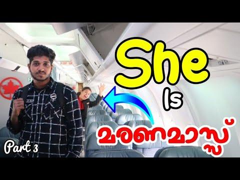 KERALA TO CANADA PART 3|LONDON TO OTTAWA ON AIR CANADA BOEING 767-300| SHE IS മരണമാസ്സ്