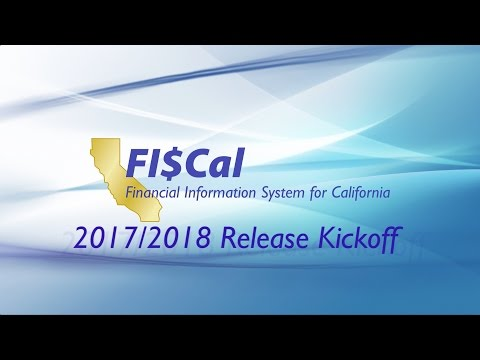 FISCal 2017/2018 Release Kickoff