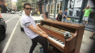 How to improvise piano - part 2 LIVE in NYC