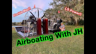 Airboat Adventure With JH Diesel!!!